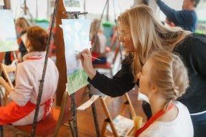 Мастер-класс по рисованию - Парк Сказка